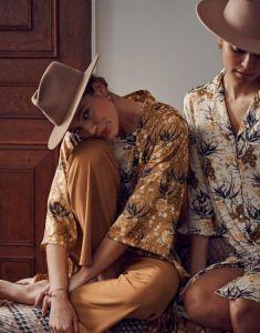 ESSENZA Erin Charlize Vanilla Nachthemd ¾ Arm XXL