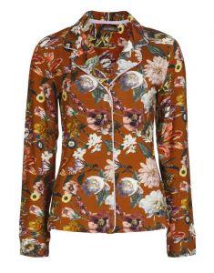 ESSENZA Fenna Filou Leather Brown Pyjama L