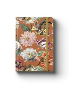 ESSENZA Filou Leather Brown Notizbuch A5