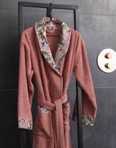 ESSENZA Fleur Dusty Rose Bademantel XS