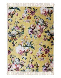 ESSENZA Fleur Golden Yellow Teppich 60 x 90 cm