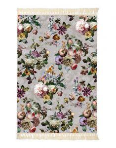 ESSENZA Fleur Grau Teppich 120 x 180 cm