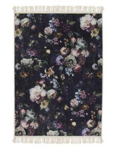 ESSENZA Fleur Nightblue Teppich 180 x 240 cm