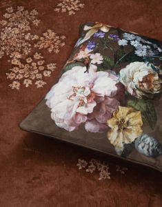 ESSENZA Fleur Chocolate Dekokissen 50 x 50 cm