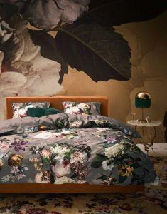 ESSENZA Fleur Taupe Bettwäsche 135 x 200 cm