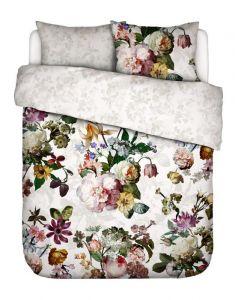 ESSENZA Fleur Weiß Bettwäsche 200 x 200 cm