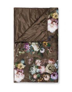 ESSENZA Fleur Chocolate Tagesdecke 220 x 265 cm
