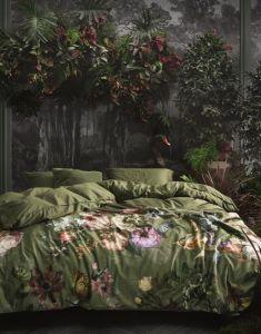 ESSENZA Fleur Moss Tagesdecke 135 x 170 cm