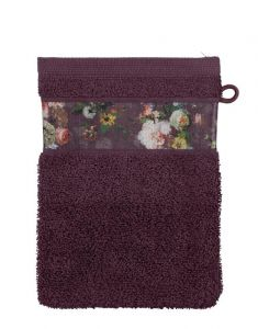 ESSENZA Fleur Plum Waschhandschuhe 16 x 22 cm
