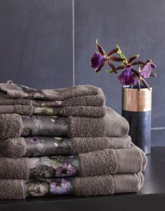 ESSENZA Fleur Handtuch Set Taupe