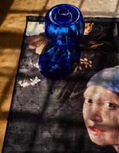 ESSENZA Floral Girl Schwarz Teppich 120 x 180 cm