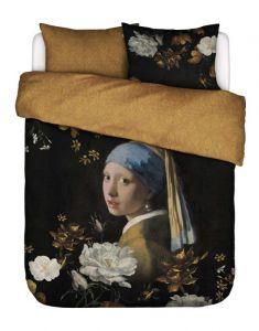 ESSENZA Floral Girl Schwarz Bettwäsche 200 x 200 cm