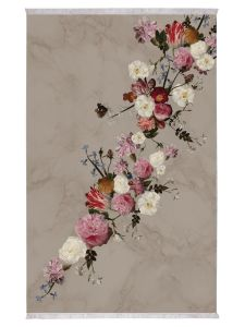 ESSENZA Flower Statement Stone Teppich 120 x 180 cm