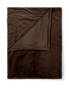 ESSENZA Furry Chocolate Plaid 150 x 200 cm