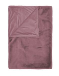 ESSENZA Furry Dusty Lilac Plaid 150 x 200 cm