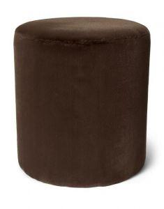 ESSENZA Furry Chocolate Samthocker 40 x 40 x 43 cm