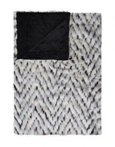 ESSENZA Fuzzy Ecru Plaid 150 x 200 cm