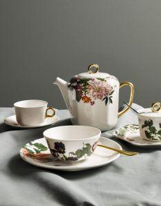 ESSENZA Gallery Off White Kaffeetasse & Untertasse 22 cl