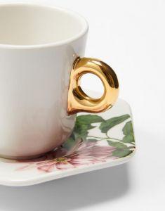 ESSENZA Gallery Off White Espresso Tasse & Untertasse 9 cl