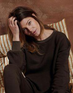 ESSENZA Jodie Uni Dunkelbraun Sweater M