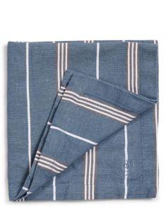 Marc O'Polo Jona Smoke Blue Serviette 45 x 45 cm