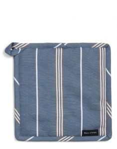 Marc O'Polo Jona Smoke Blue Topflappen 22 x 22 cm