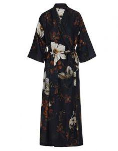 ESSENZA Jula Daffodils Reunited Schwarz Kimono XS