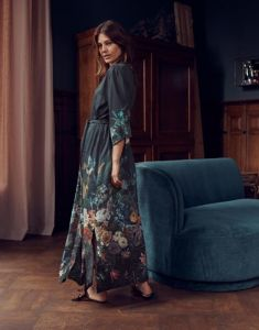 ESSENZA Jula Eleanor Nightblue Kimono L