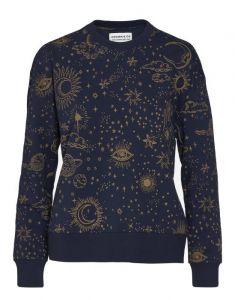 Covers & Co Kea That's the spirit Nightblue Sweater L
