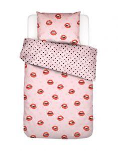 Covers & Co Kiss My Sass Rose Bettwäsche 135 x 200 cm