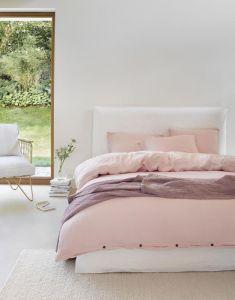 Marc O'Polo Kuva Pink Blush Bettwäsche 135 x 200 cm