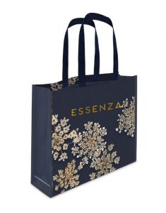ESSENZA Lauren Indigo Blue Shopper 45 x 12 x 35 cm