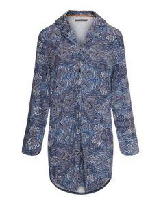 ESSENZA Lindy Boheme Indigo Blue Nachthemd XS