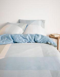 Marc O'Polo Liran Nordic Blue Bettwäsche 200 x 200 cm