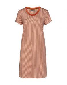 ESSENZA Loreen Striped Ginger Nachthemd XS