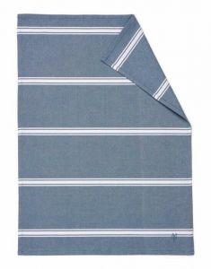 Marc O'Polo Lovon Smoke Blue Geschirrtuch 50 x 70 cm