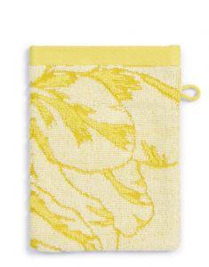 ESSENZA Malou Gelb Waschhandschuhe 16 x 22 cm