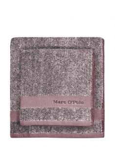 Marc O'Polo Melange Aubergine / Lavender Mist Gästetuch 30 x 50 cm