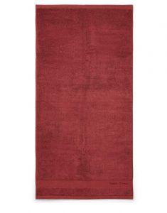 Marc O'Polo Melange Deep Rose / Warm Red Handtuch 70 x 140 cm