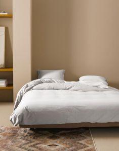 ESSENZA Minte Grau Bettwäsche 135 x 200 cm