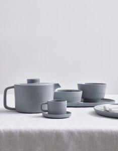 Marc O'Polo Moments Soft Grey Espresso Tasse & Untertasse 10 cl