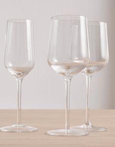 Marc O'Polo Moments Transparent Weißweinglas (4-tlg) 35 cl