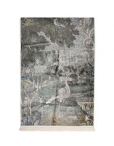 ESSENZA Nadia Sage Green Wandteppich 120 x 180 cm