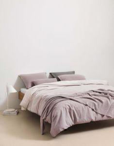 Marc O'Polo Nordic knit Lavender Mist Dekokissen 30 x 60 cm