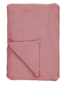 Marc O'Polo Nordic knit Ash Rose Plaid 130 x 170 cm