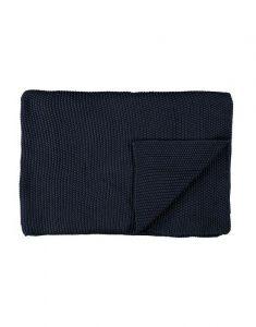 Marc O'Polo Nordic knit Indigo Blue Plaid 130 x 170 cm