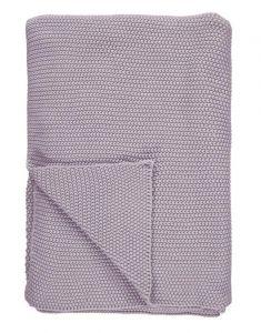 Marc O'Polo Nordic knit Lavender Mist Tagesdecke 130 x 170 cm