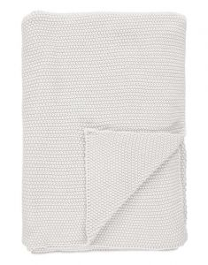 Marc O'Polo Nordic knit Off White Plaid 130 x 170 cm