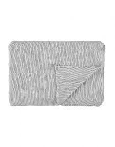 Marc O'Polo Nordic knit Silver Plaid 130 x 170 cm