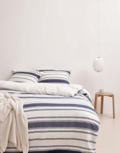 Marc O'Polo Osi Blau Kissenbezug 40 x 40 cm